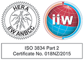 IIW ANBCC ISO 3834 logo