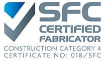 Steel Fabrication Certification Category 4 logo