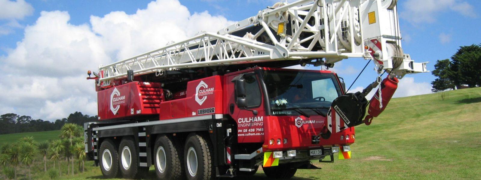Liebherr 100t Mobile Crane