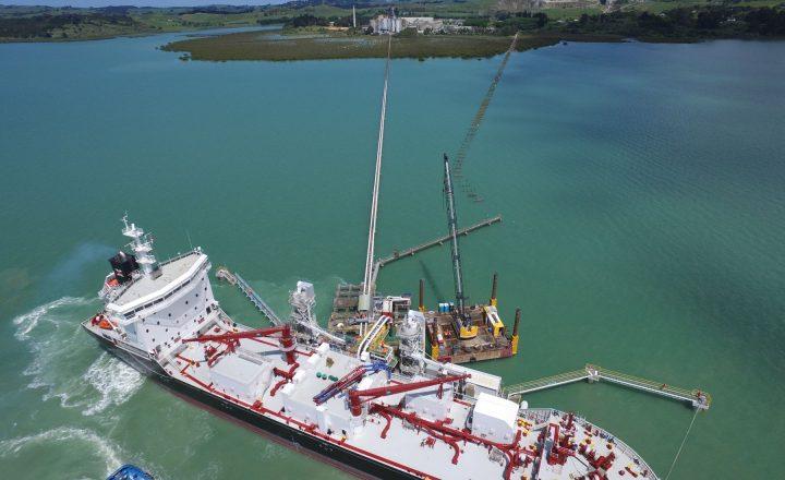 Golden Bay Cement Wharf Upgrade
