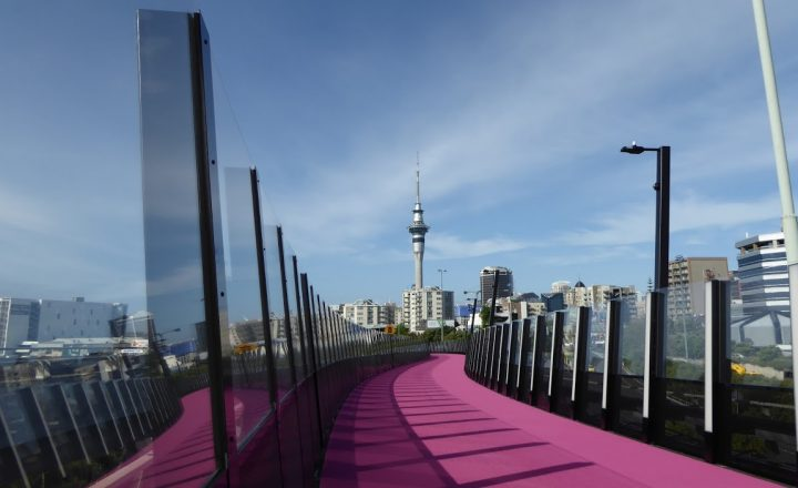 Nelson Street Cycleway – Auckland