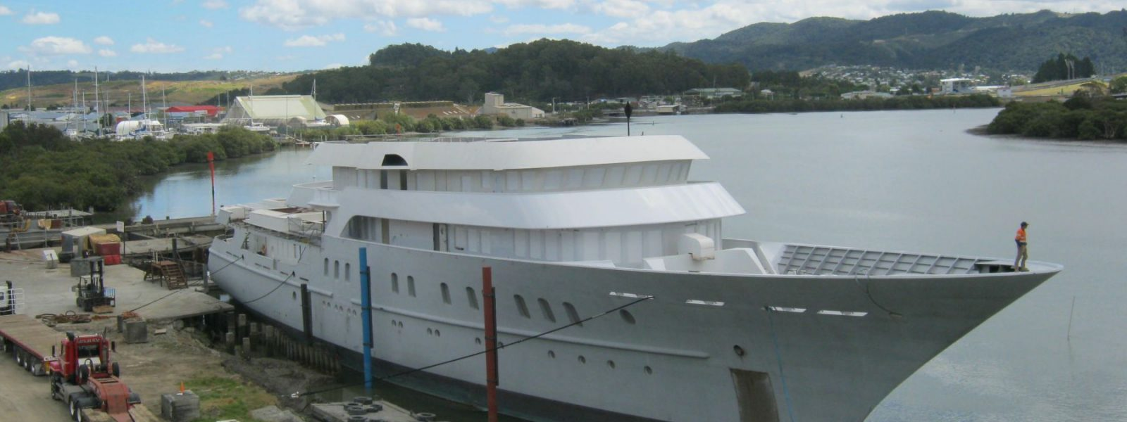 U77 Super-yacht Refit