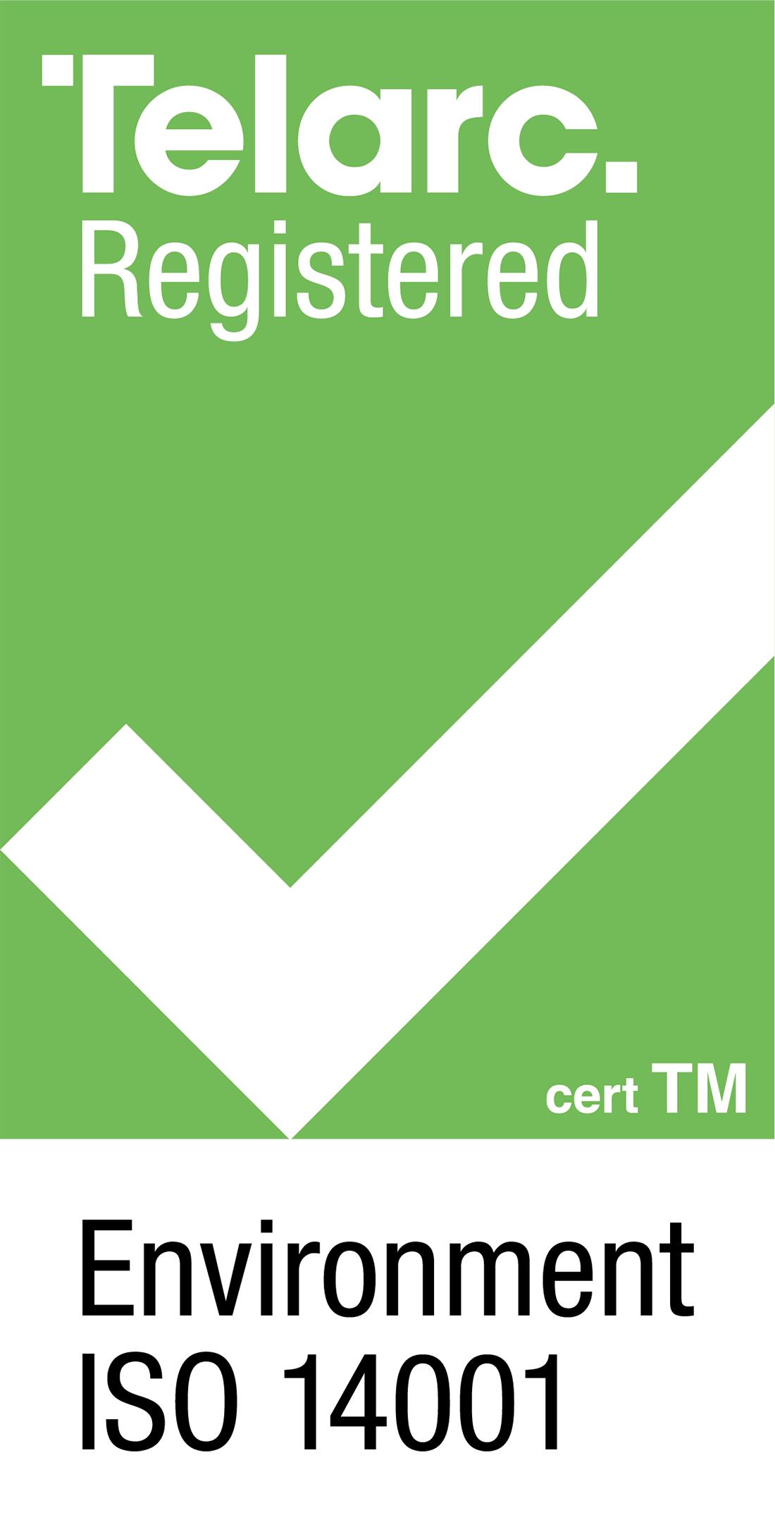 Telarc ISO 14001 logo