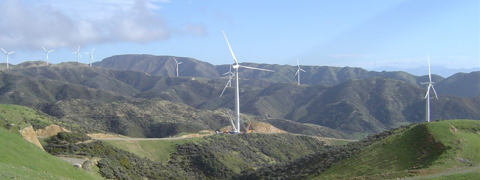 West Wind Farm Turbine Maintenance
