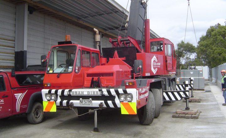 Kato 40t Hydraulic Truck Crane - Teaser Image