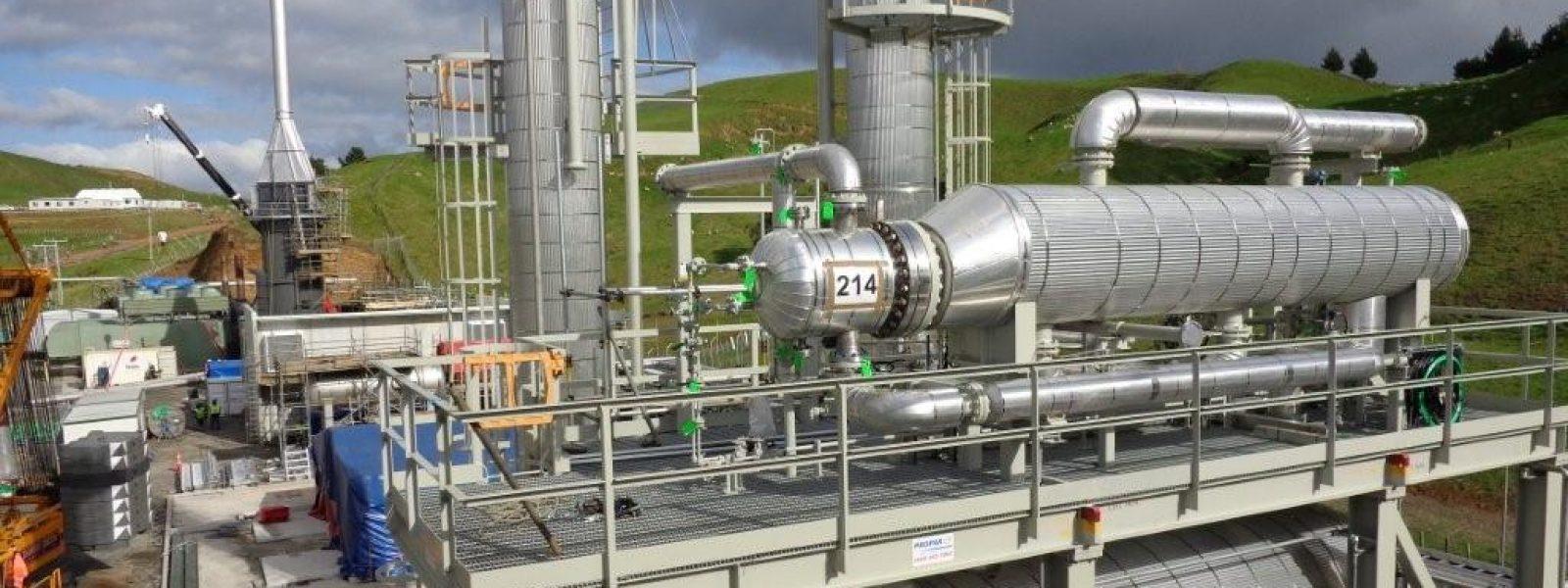 Mangahewa D Todd Energy Gas Plant