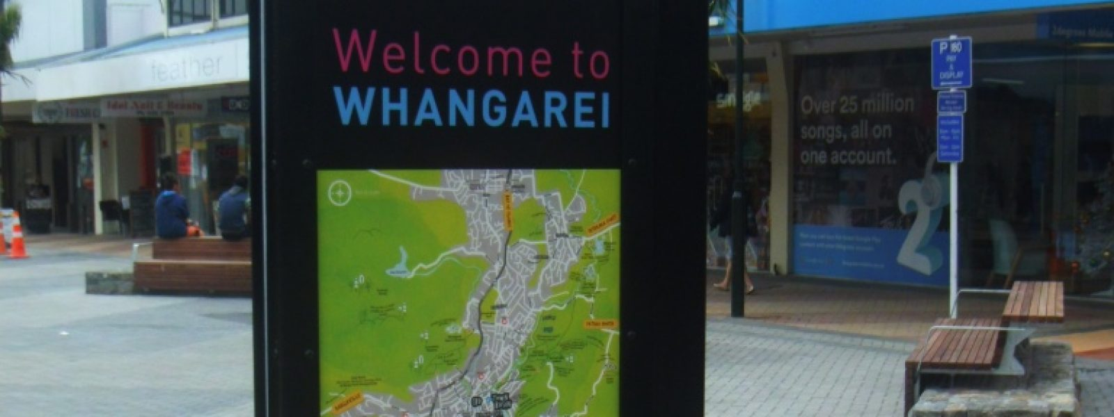 Way-finding Plinths for Whangarei CBD
